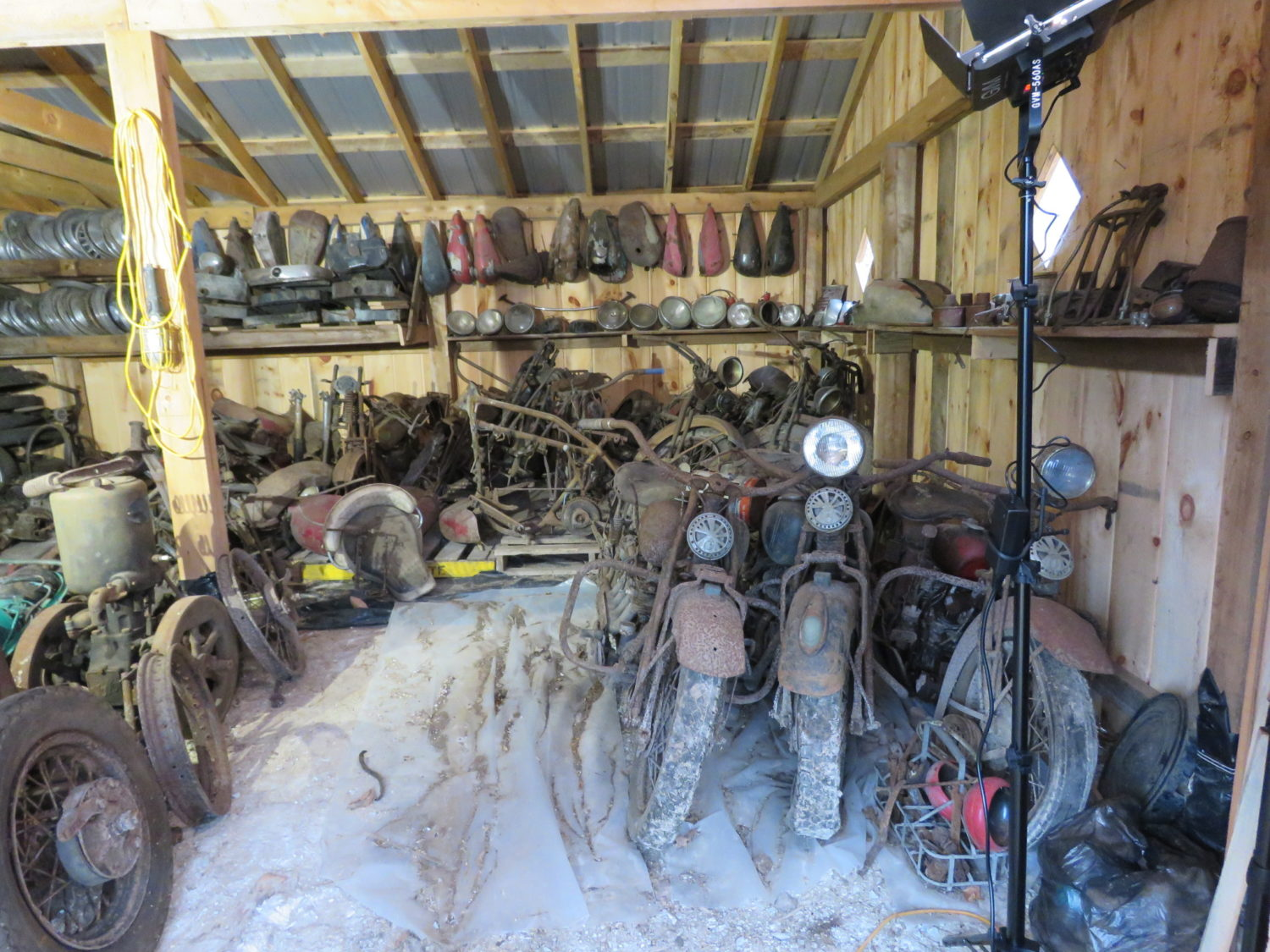 AMAZING Indian Motorcycle Hoard, Race Cars, Collector Car, Collectibles & More!  - image 2