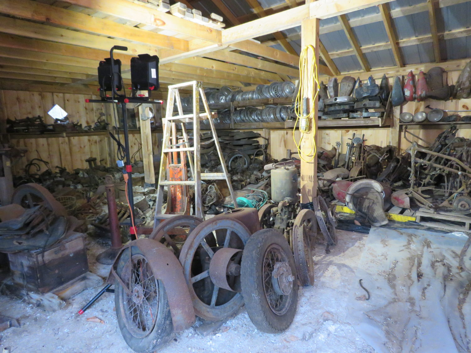 AMAZING Indian Motorcycle Hoard, Race Cars, Collector Car, Collectibles & More!  - image 3