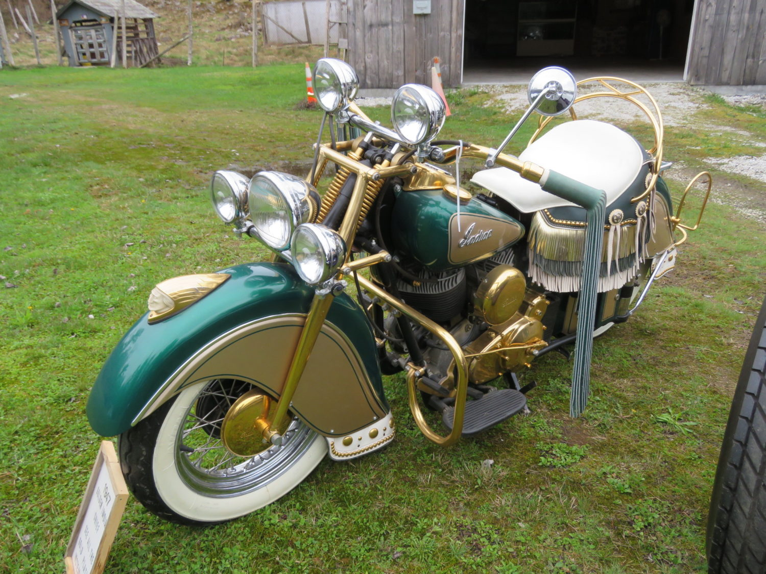 AMAZING Indian Motorcycle Hoard, Race Cars, Collector Car, Collectibles & More!  - image 4