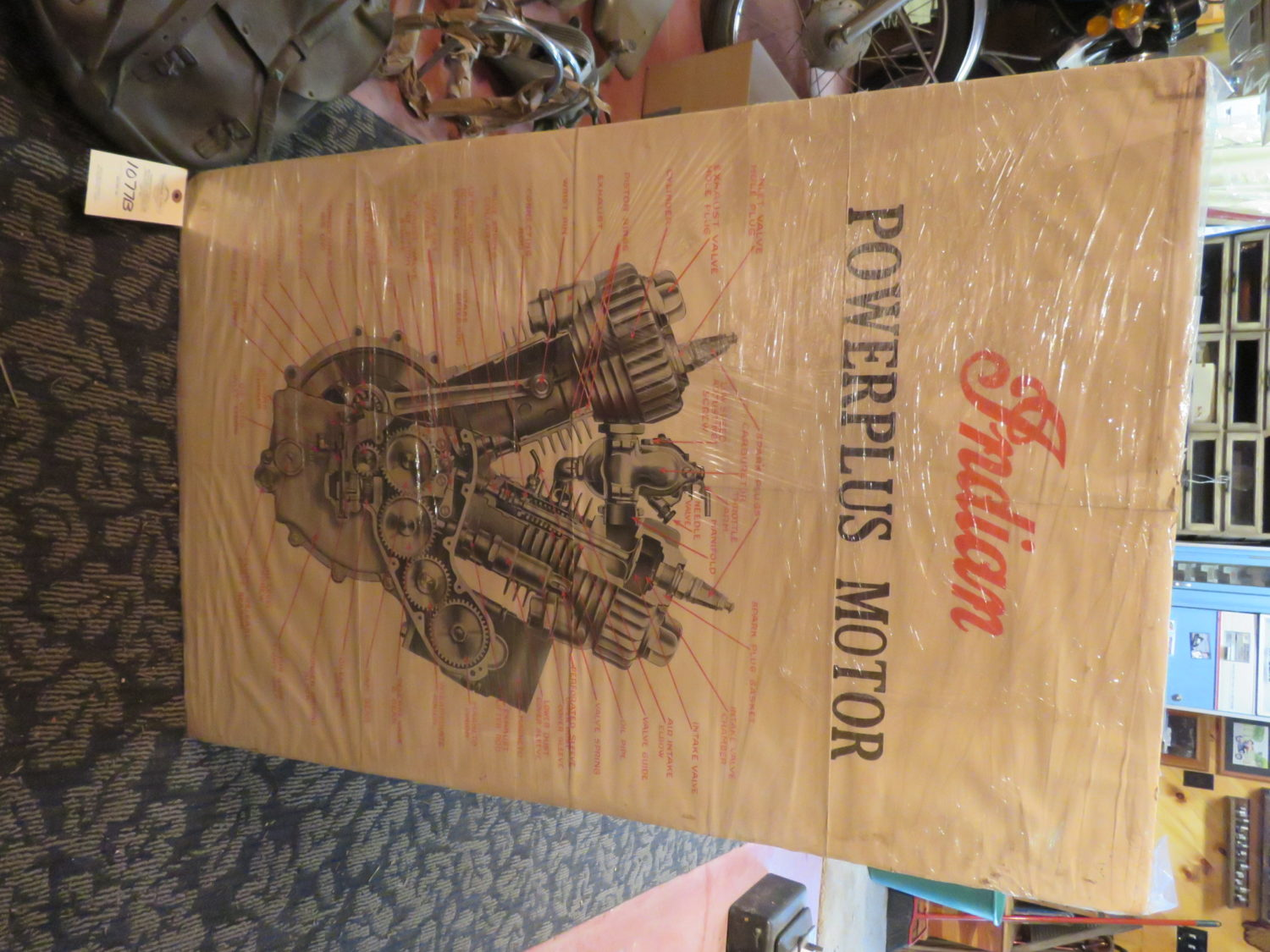 AMAZING Indian Motorcycle Hoard, Race Cars, Collector Car, Collectibles & More!  - image 12