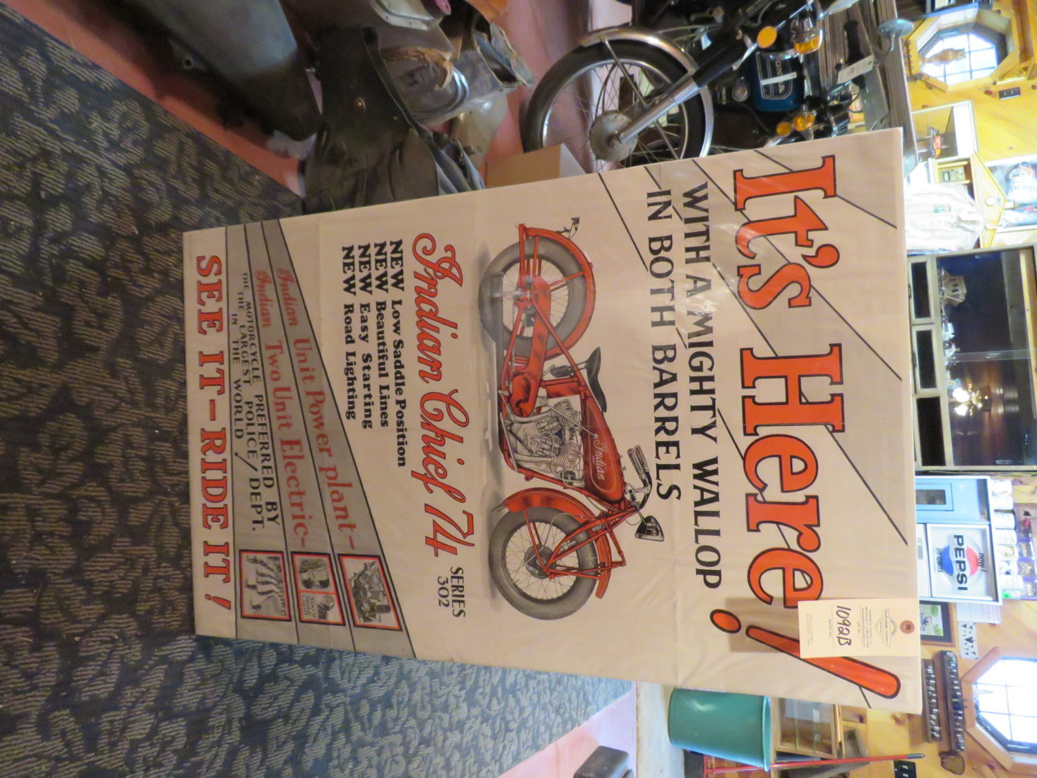 AMAZING Indian Motorcycle Hoard, Race Cars, Collector Car, Collectibles & More!  - image 13