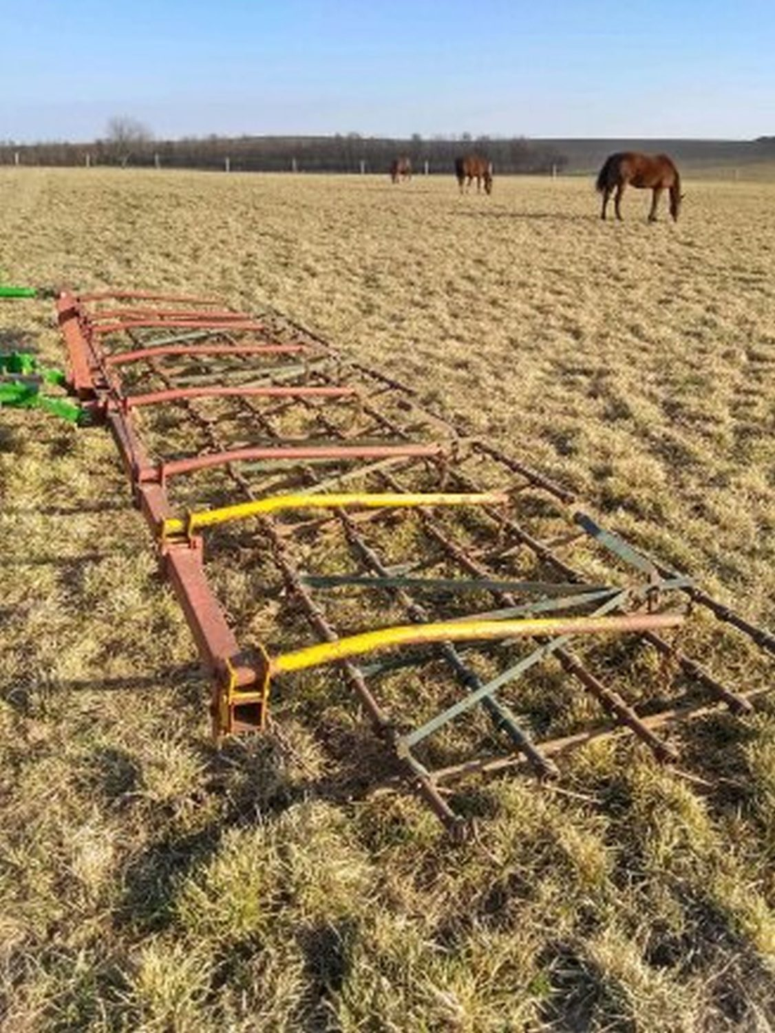 23ft. 4 Section Category 1 3-point Field harrow - Image 1