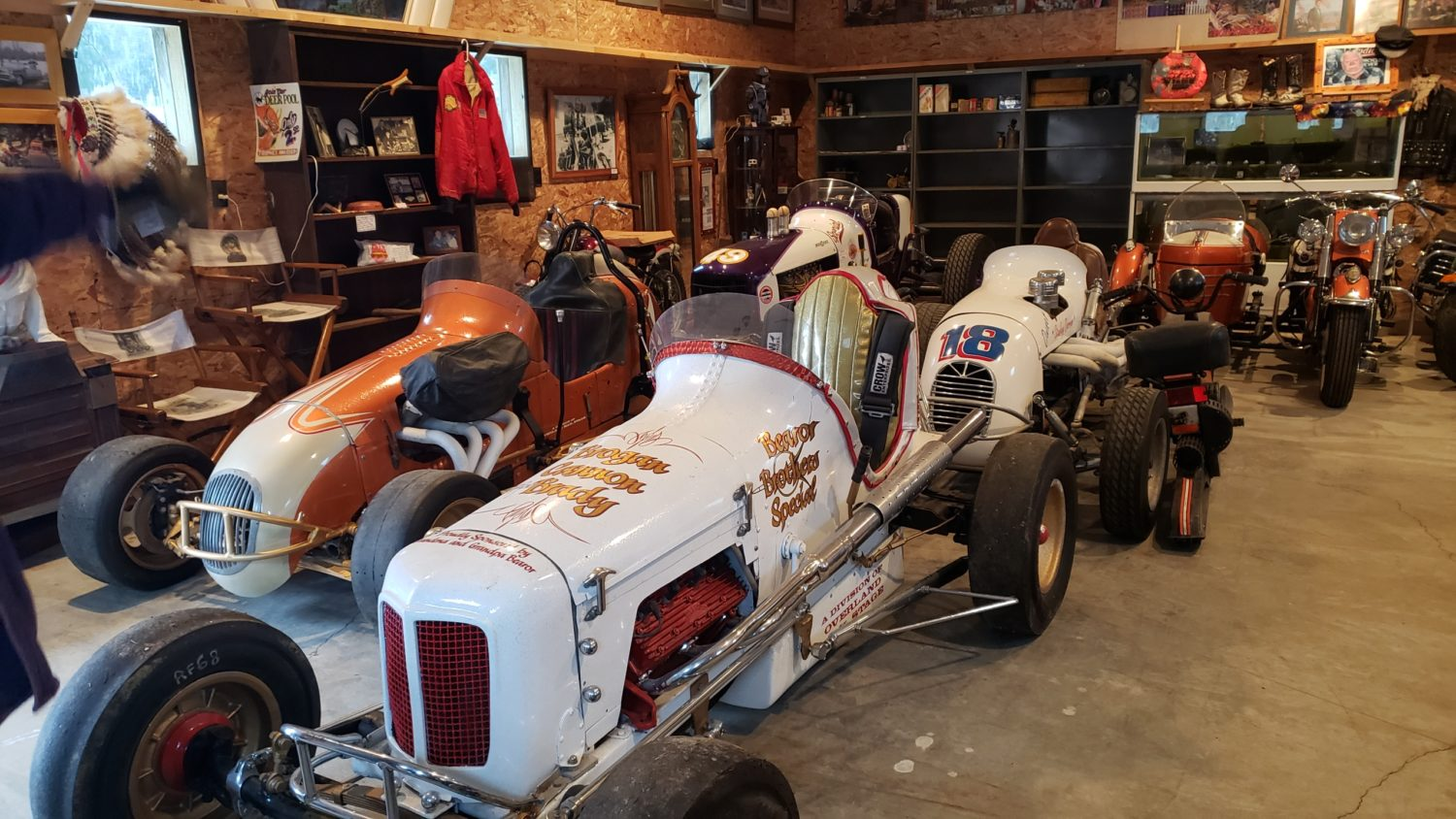 AMAZING Indian Motorcycle Hoard, Race Cars, Collector Car, Collectibles & More!  - image 18