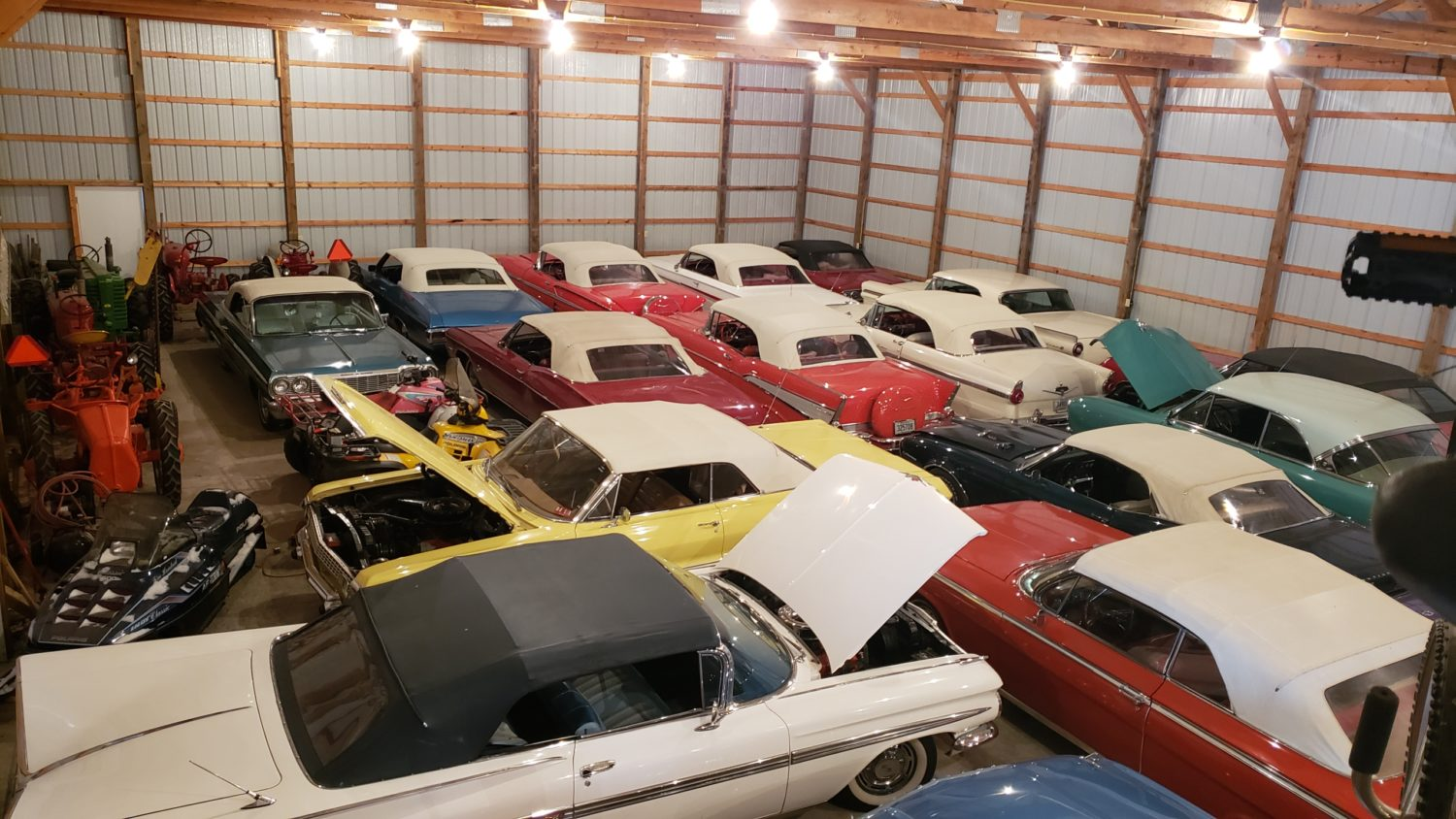 Fabulous Convertibles-Muscle- Antique Tractors & More! The Windels Collection LIVE ONSITE & Online BIdding - image 1