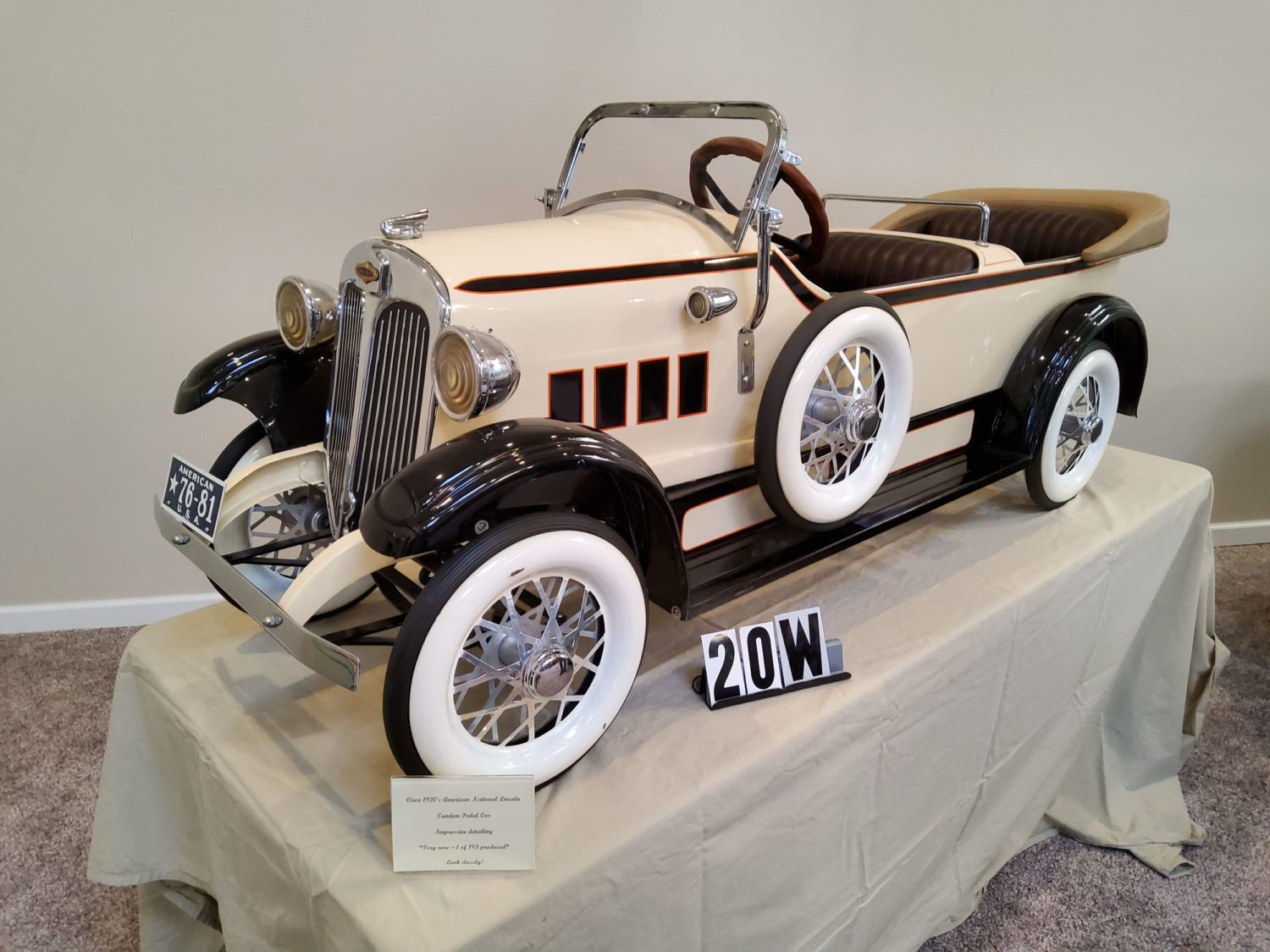 ONLINE ONLY- The Fabulous & Rare Nebraska Pedal Car Collection  - image 7