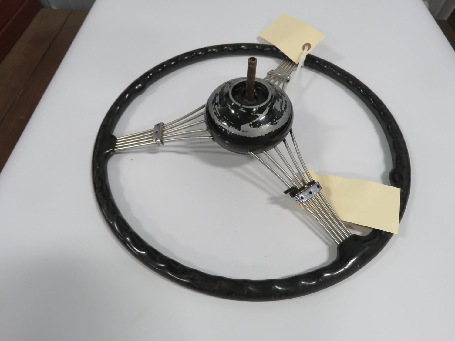 1939 Ford Banjo Steering wheel w/Horn Button - Image 2