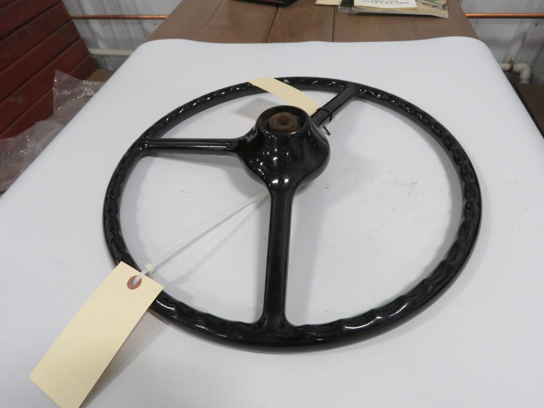 1951 Ford F-1 Black Original Steering Wheel - Image 2