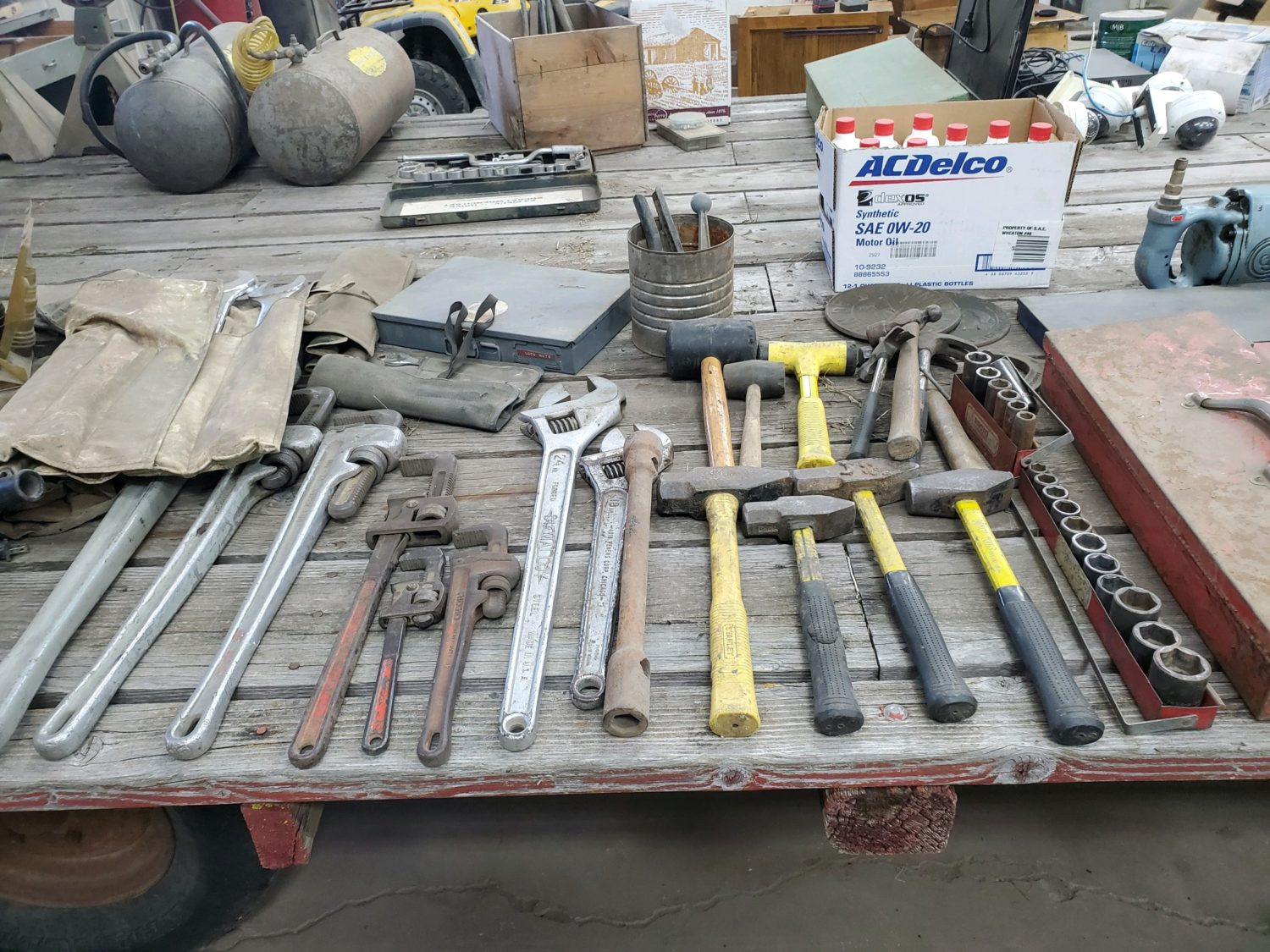 Shop Equipment, Tools, 4-Wheeler, Household & handful of Collector Cars- James Graham Estate - image 12