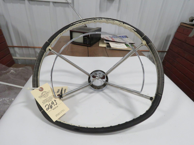 1957 mercury TPC Original Steering Wheel - Image 1