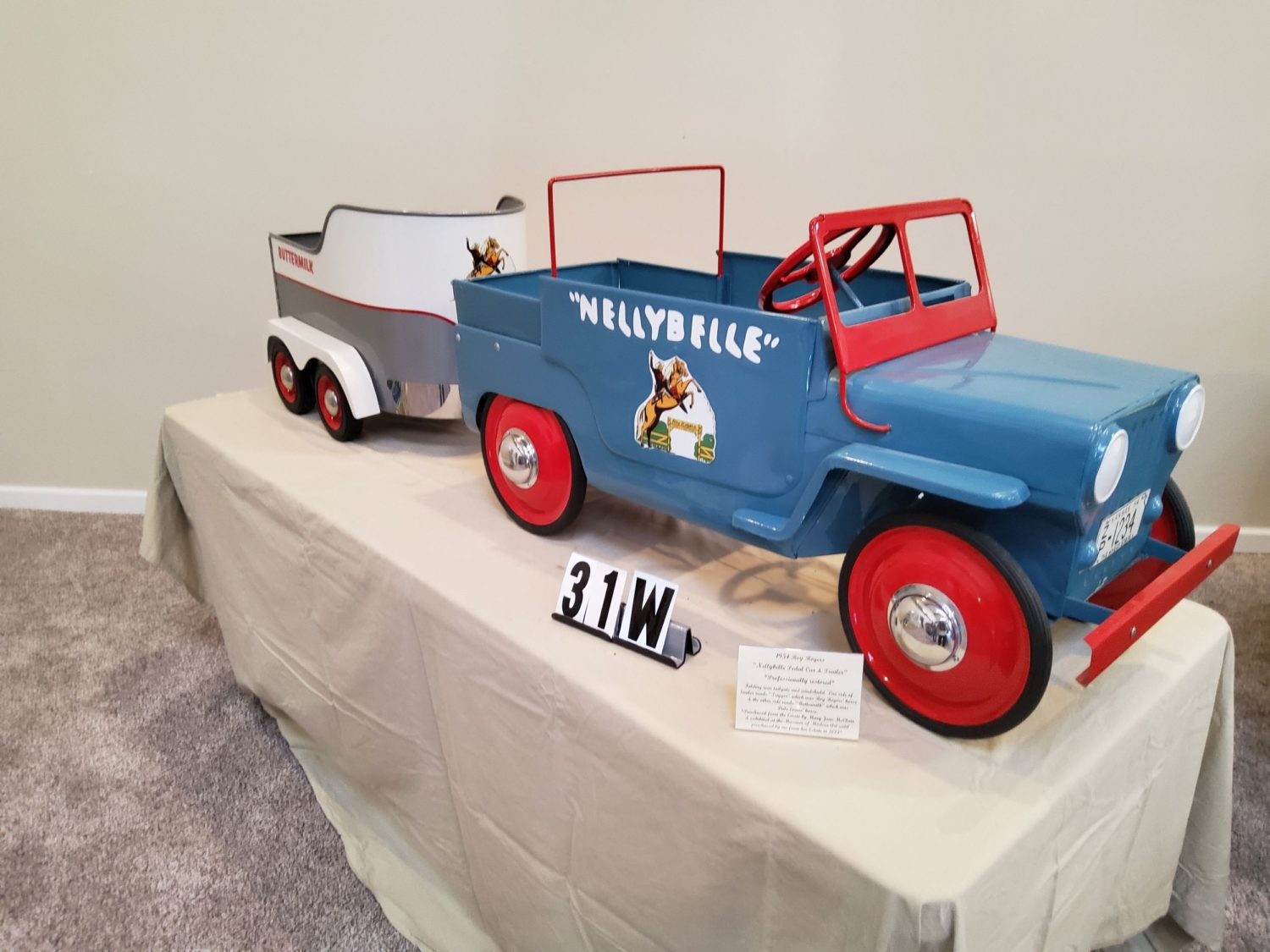 ONLINE ONLY- The Fabulous & Rare Nebraska Pedal Car Collection  - image 10