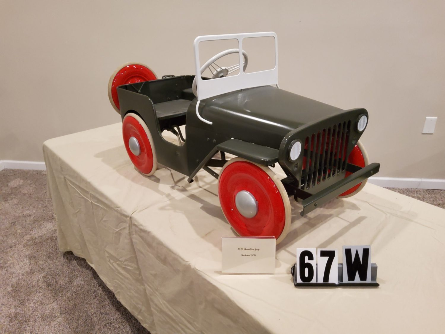 ONLINE ONLY- The Fabulous & Rare Nebraska Pedal Car Collection  - image 12