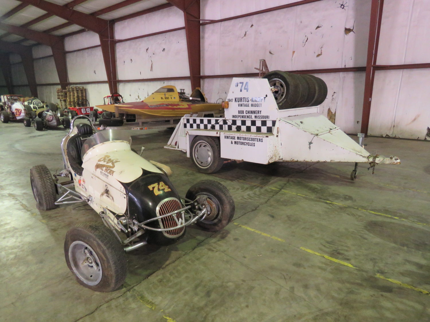 Amazing Vintage Motorcycles, Race Cars, Collector Cars & Parts! The JAB Collection - image 2
