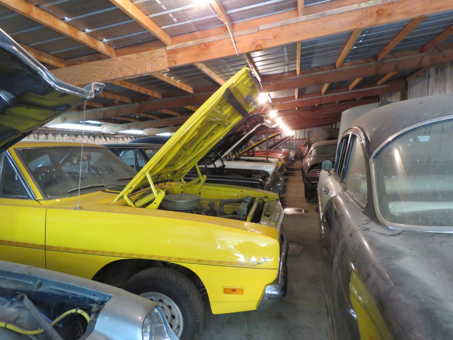 Iowa Muscle Car Hoard! The Coyote Johnson Collection Auction