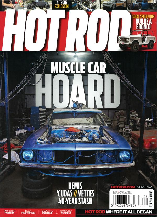 Hot Rod Magazine August 2018